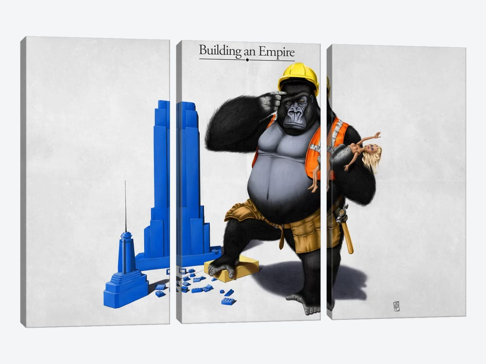 Building An Empire by Rob Snow 3-piece Canvas Artwork
