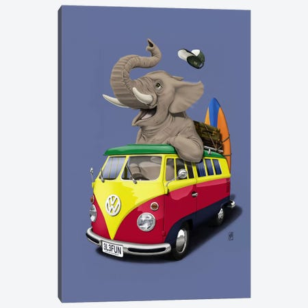 Pack-the-trunk III Canvas Print #RSW6} by Rob Snow Canvas Art Print