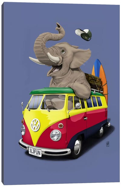 Pack-the-trunk III Canvas Print #RSW6