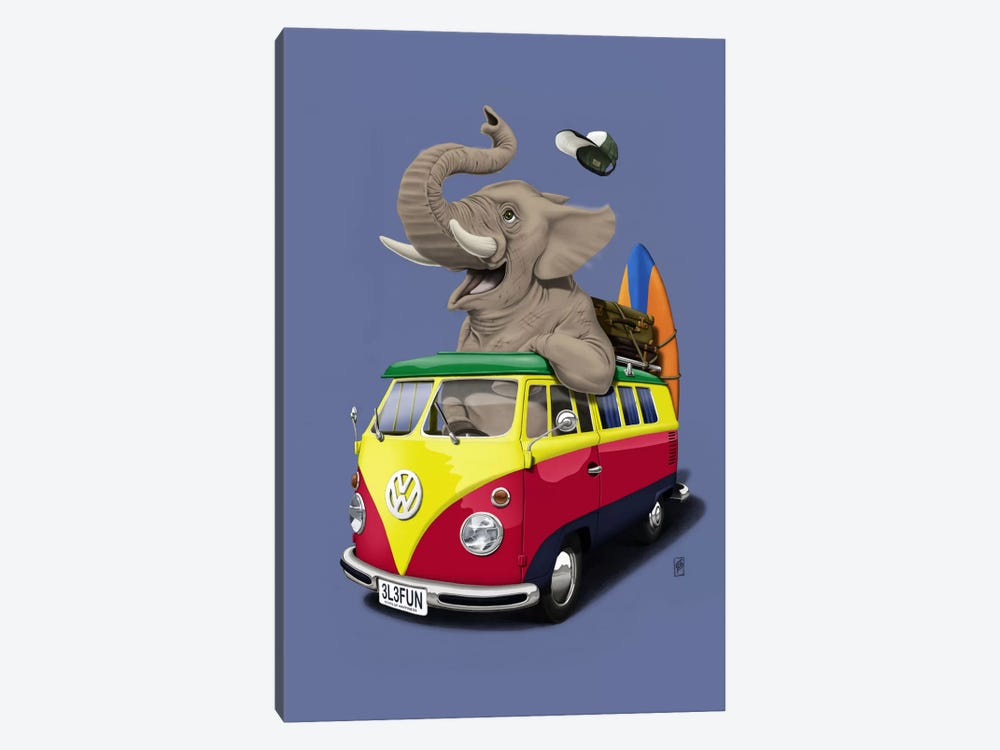Pack-the-trunk III by Rob Snow 1-piece Canvas Print