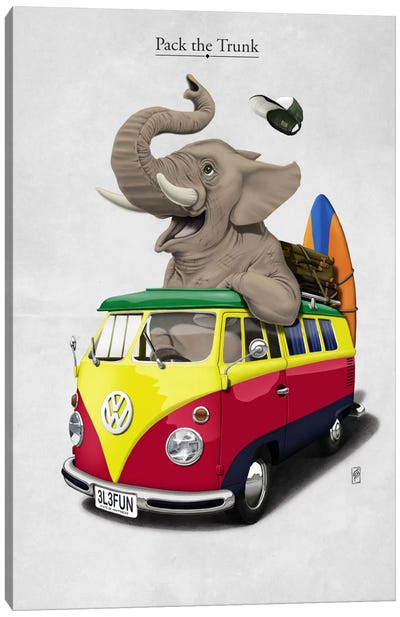 Pack-the-trunk I Canvas Art Print