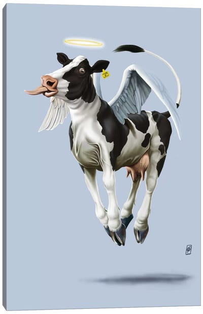Holy Cow III Canvas Art Print