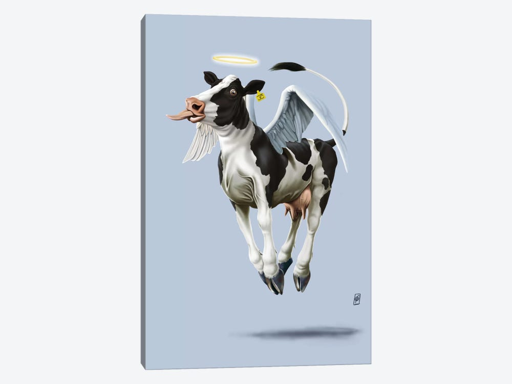 Holy Cow III by Rob Snow 1-piece Canvas Artwork