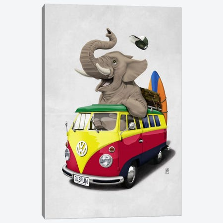 Pack-the-trunk II Canvas Print #RSW8} by Rob Snow Canvas Artwork