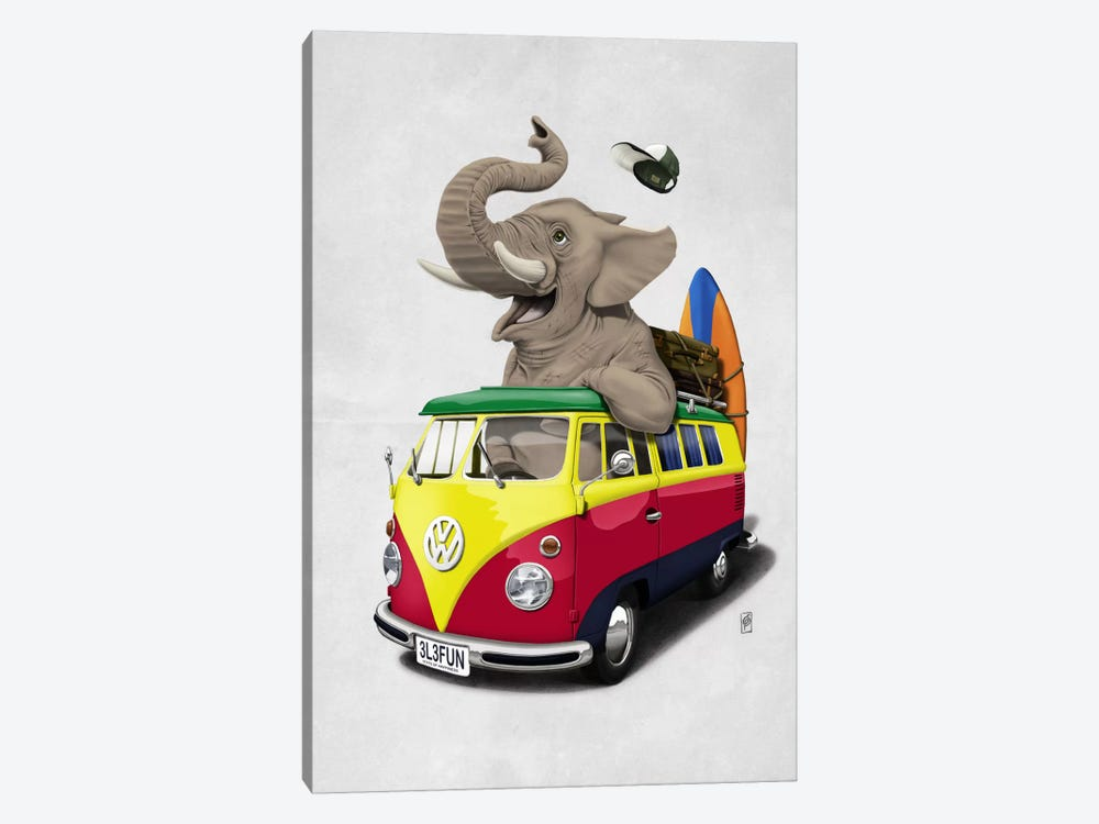 Pack-the-trunk II by Rob Snow 1-piece Canvas Art Print