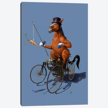 Horse Power III Canvas Print #RSW92} by Rob Snow Canvas Art