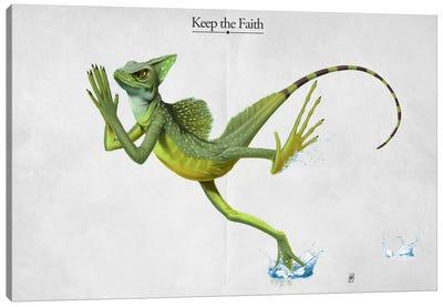 Keep The Faith Canvas Art Print