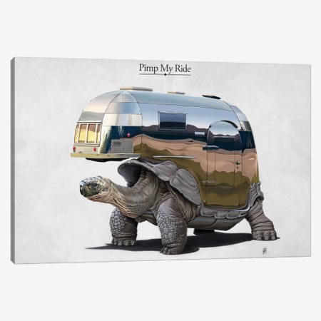 Pimp My Ride I Canvas Print #RSW9} by Rob Snow Canvas Artwork
