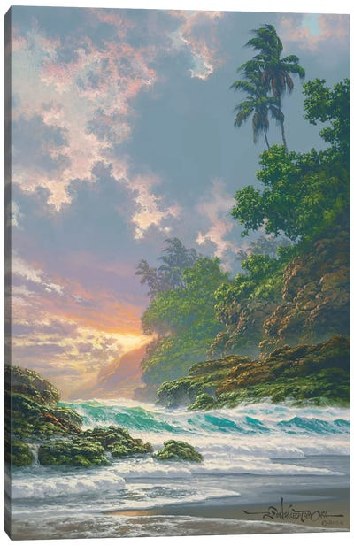 Evening Interlude Canvas Art Print