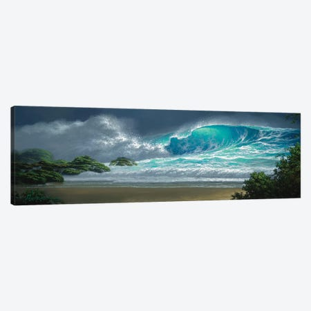 Island Breakers Canvas Print #RTA13} by Roy Tabora Canvas Print