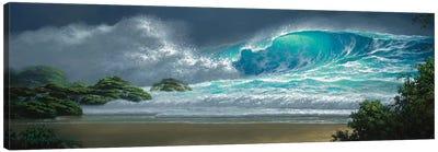 Island Breakers Canvas Art Print