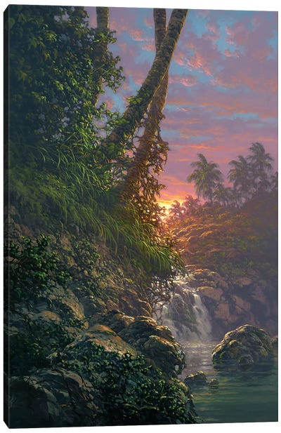 Nature's Hideaway Canvas Art Print