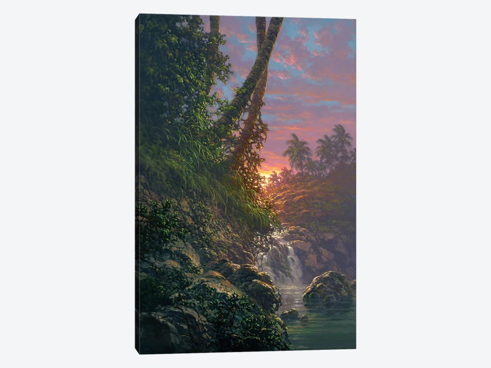 Nature's Hideaway by Roy Tabora 1-piece Canvas Art Print
