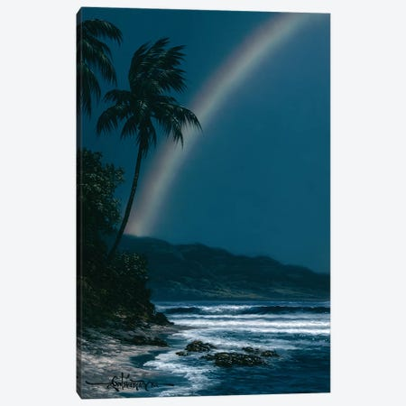 Night Ribbon Canvas Print #RTA18} by Roy Tabora Art Print