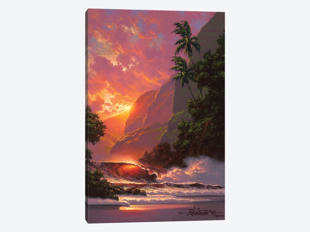 Summer Embers by Roy Tabora 1-piece Canvas Wall Art