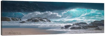 Sweeping Ocean Tide Canvas Art Print