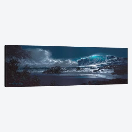 Symphony Of The Sea Canvas Print #RTA22} by Roy Tabora Canvas Artwork