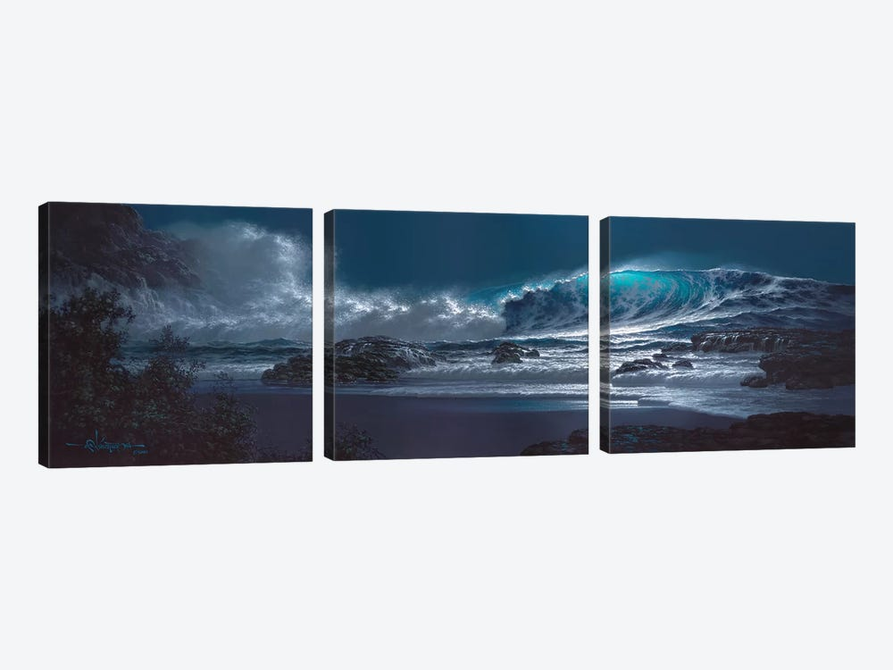 Symphony Of The Sea by Roy Tabora 3-piece Canvas Artwork