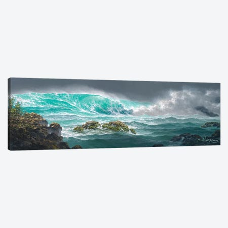 The Passionate Sea Canvas Print #RTA24} by Roy Tabora Canvas Art Print