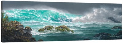 The Passionate Sea Canvas Art Print