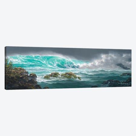 The Passionate Sea Canvas Print #RTA24} by Roy Tabora Canvas Art Print
