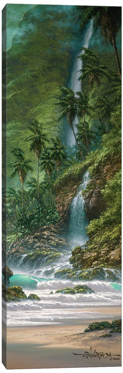 This Side Of Paradise Canvas Art Print