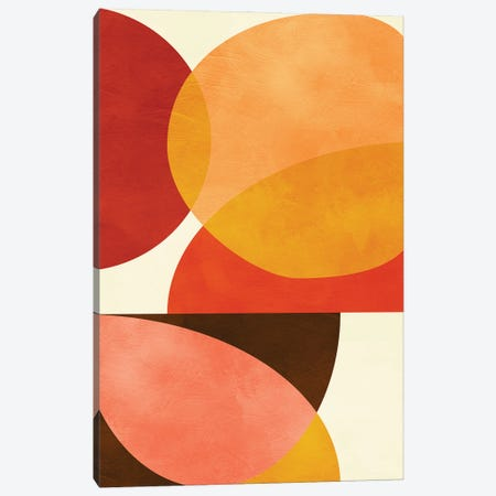 Mid Century Modern I Canvas Print #RTB103} by Ana Rut Bré Canvas Print