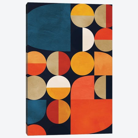 Mid Century Modern II Canvas Print #RTB104} by Ana Rut Bré Canvas Artwork
