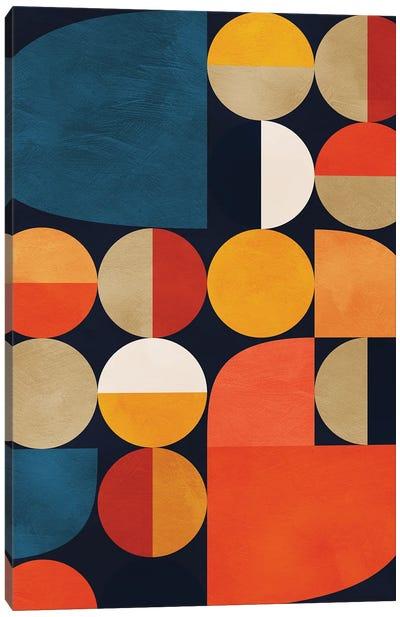 Mid Century Modern II Canvas Art Print