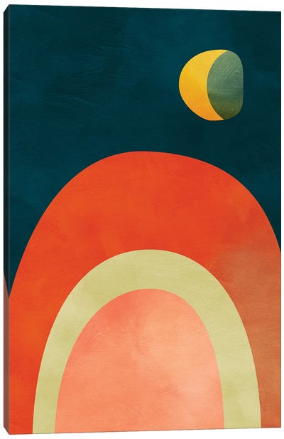 Mid Century Modern III Canvas Art Print