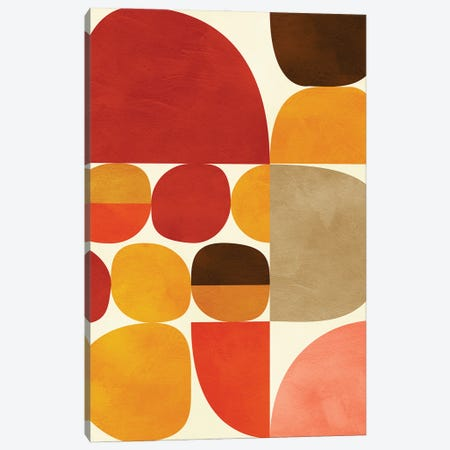 Mid Century Modern V Canvas Print #RTB107} by Ana Rut Bré Canvas Wall Art