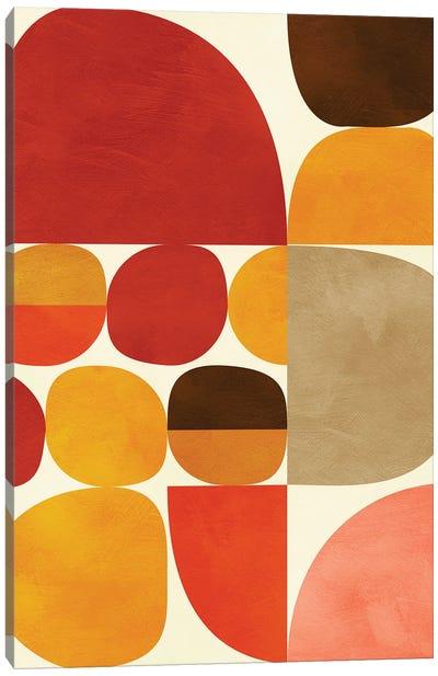 Mid Century Modern V Canvas Art Print