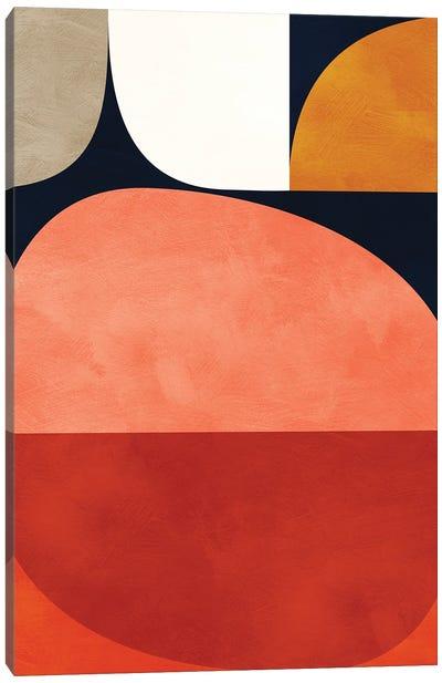 Mid Century Modern VI Canvas Art Print
