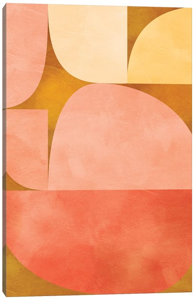 Mid Century Modern IX Canvas Art Print
