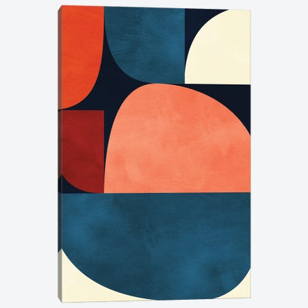 Mid Century Modern X Canvas Print #RTB111} by Ana Rut Bré Canvas Art