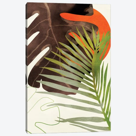 Leaves Nature I Canvas Print #RTB113} by Ana Rut Bré Canvas Wall Art
