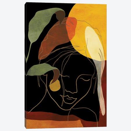 Woman In Black Canvas Print #RTB118} by Ana Rut Bré Canvas Art