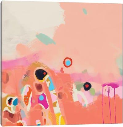 Coral Summer Canvas Art Print