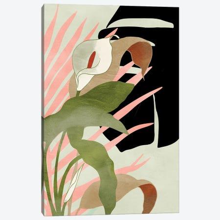 Tropical Floral Canvas Print #RTB120} by Ana Rut Bré Canvas Print
