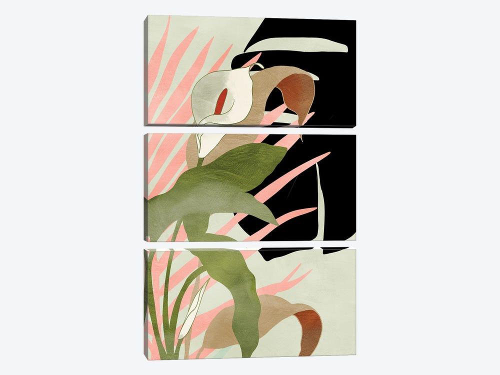 Tropical Floral by Ana Rut Bré 3-piece Canvas Artwork