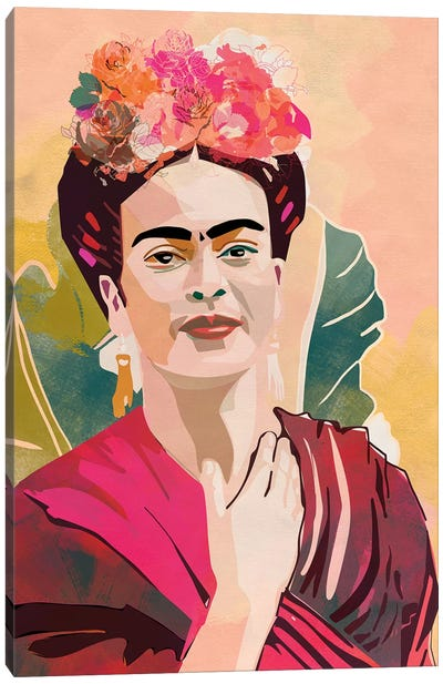 Frida Kahlo Canvas Art Print