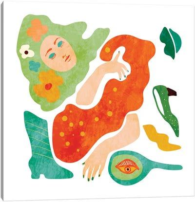 A Womans Dream Canvas Art Print