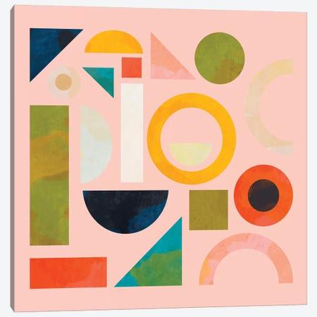 Geometric Play Modern Art Canvas Print #RTB26} by Ana Rut Bré Canvas Artwork