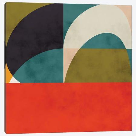 Geometric Shapes II Canvas Print #RTB28} by Ana Rut Bré Canvas Print