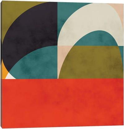 Geometric Shapes II Canvas Art Print