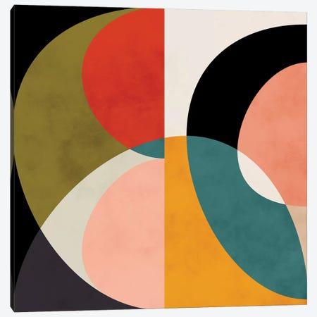 Geometric Shapes III Canvas Print #RTB29} by Ana Rut Bré Canvas Art Print