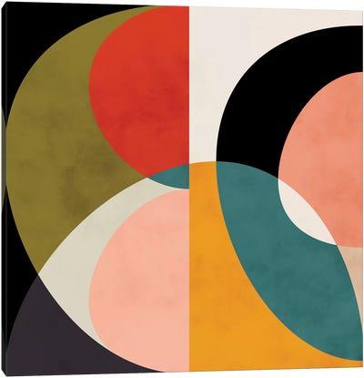 Geometric Shapes III Canvas Art Print