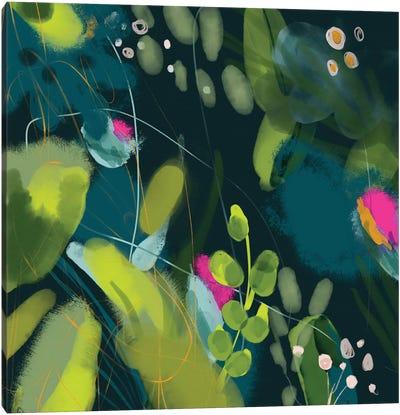 Jungle Feaver Leaves Canvas Art Print