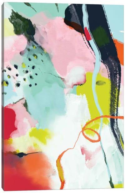 Landscape In Spring Canvas Art Print