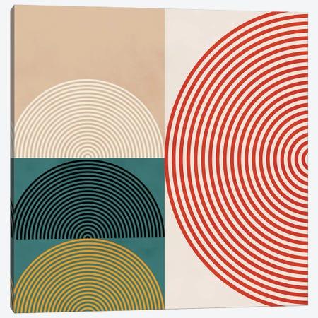 Lines & Shapes III Canvas Print #RTB42} by Ana Rut Bré Canvas Art Print